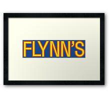 Tron Flynn arcade logo Framed Print