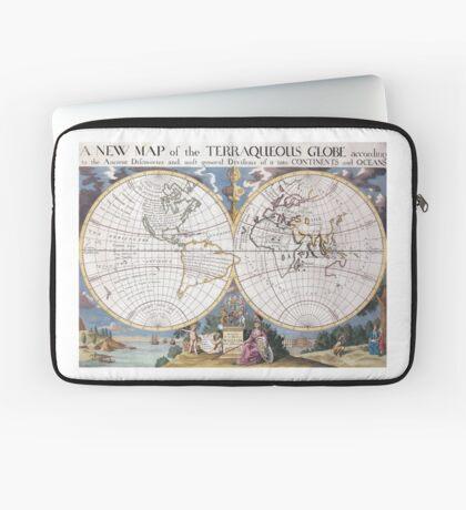 vintage Moon map Laptop Sleeve