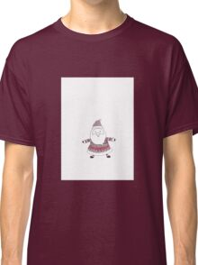 Knitted Santa Classic T-Shirt
