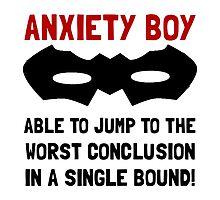 Anxiety Boy by AmazingMart