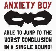 Anxiety Boy Kids Clothes