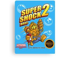 Super Shock Bros 2 Canvas Print