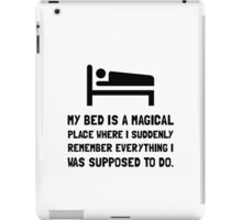 Bed Magical Place iPad Case/Skin