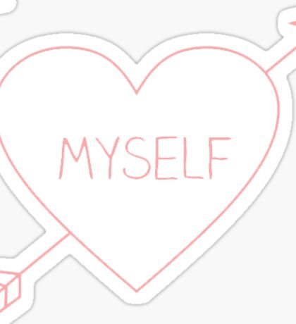 I love myself Sticker