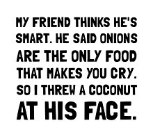 Coconut At Face by AmazingMart