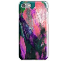 Mermaid Abstract Paint Mixing iPhone Case/Skin