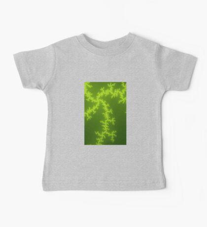 Green Fractal Baby Tee