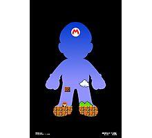 Mario Poster Photographic Print