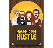 American Hustle Illustration Photographic Print