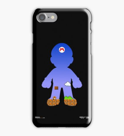Mario Poster iPhone Case/Skin