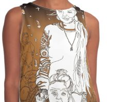 3 Generations of Tohono O'odham - A Tucson Portrait Story Contrast Tank