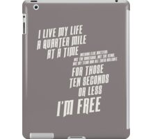 The Fast And The Furious - I Live My life iPad Case/Skin