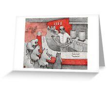 Lamian Meow Greeting Card