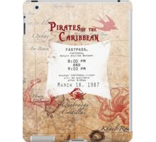 Pirates of the Caribbean- Fastpass iPad Case/Skin