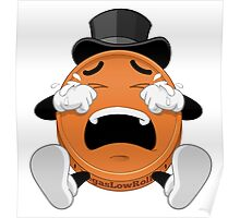 CRYING PENNY EMOJI COIN Poster