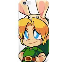 Bunny Hood Link iPhone Case/Skin