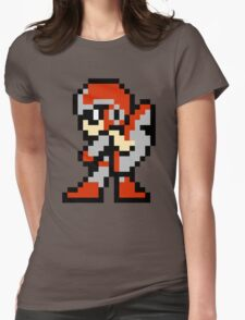 Protoman Womens Fitted T-Shirt