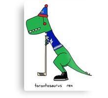 Torontosaurus Rex Metal Print