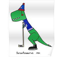 Torontosaurus Rex Poster