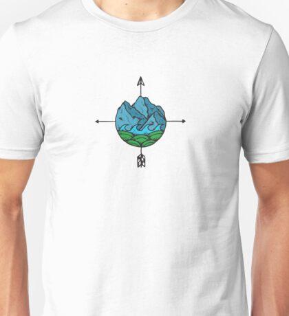 Mountain Compass Unisex T-Shirt