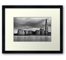 The Shard and Mayor of London's Office Framed Print