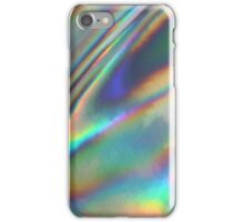 Holographic Sea in Yellow iPhone Case/Skin