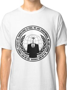 High Quality Anonymous Seal Tapestry and Sticker Classic T-Shirt