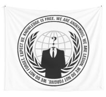 High Quality Anonymous Seal Tapestry and Sticker Wall Tapestry