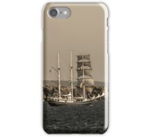 Tall Ship Loch Indaal iPhone Case/Skin