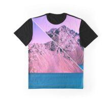 Landscape Glitch Graphic T-Shirt