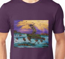 twisted yellow tree Unisex T-Shirt