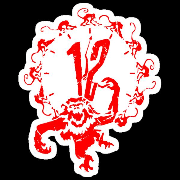 Monkey x 12 by loogyhead