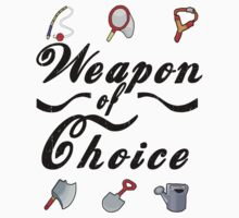 Animal Crossing- Weapon of Choice T-Shirt