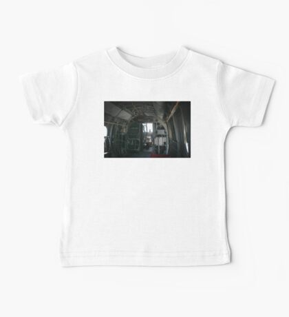 Old Helicopter Baby Tee