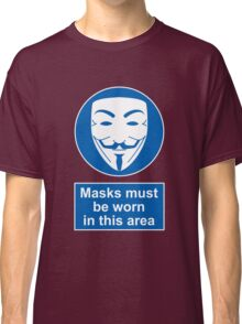 Health And Safety In An Alternate Future Totalitarian State Classic T-Shirt