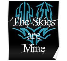 The Skies Are Mine Kaladin Sanderson Poster