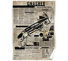 Gears of War - Gnasher Paper Style Poster