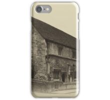 Masonic Lodge Bradford on Avon iPhone Case/Skin