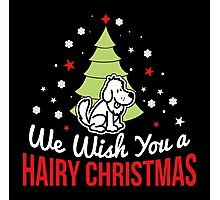 We wish you a hairy christmas! Photographic Print