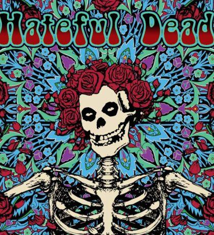 Hateful Dead - Misfits & Grateful Dead Mashup Sticker