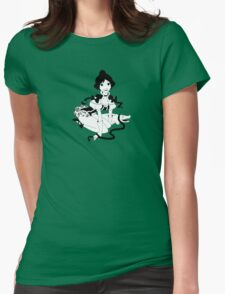 Pinup Tightrope Girl - Haunted Mansion T-Shirt