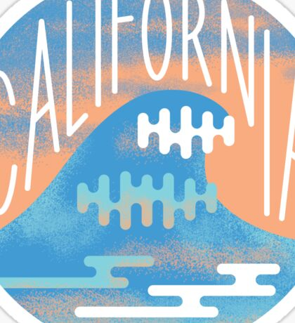 California Wave Sticker