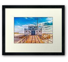 Atlantic City Beach Patrol Framed Print