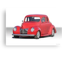 1940 Ford Coupe Metal Print