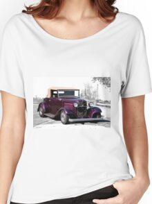 1932 Ford 'Rumble Seat Ragtop' Roadster Women's Relaxed Fit T-Shirt