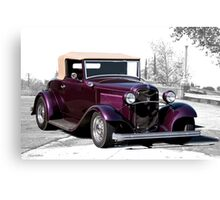 1932 Ford 'Rumble Seat Ragtop' Roadster Canvas Print