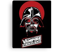 the Vampire Strikes Back Vader Canvas Print