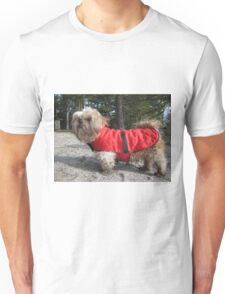 shih tzu happy Unisex T-Shirt