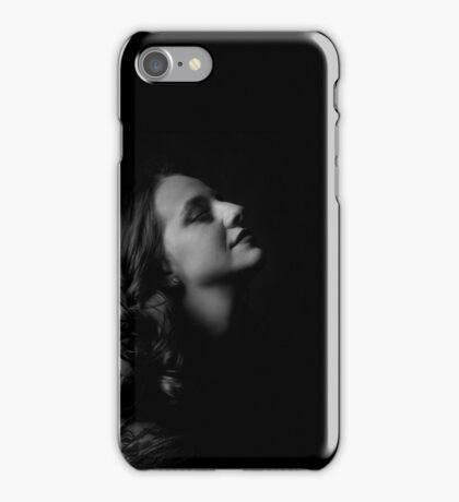 Film Noir: Femme Fatale Seduction iPhone Case/Skin
