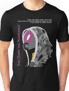 Mass Effect - Tali'Zora vas Normandy Unisex T-Shirt